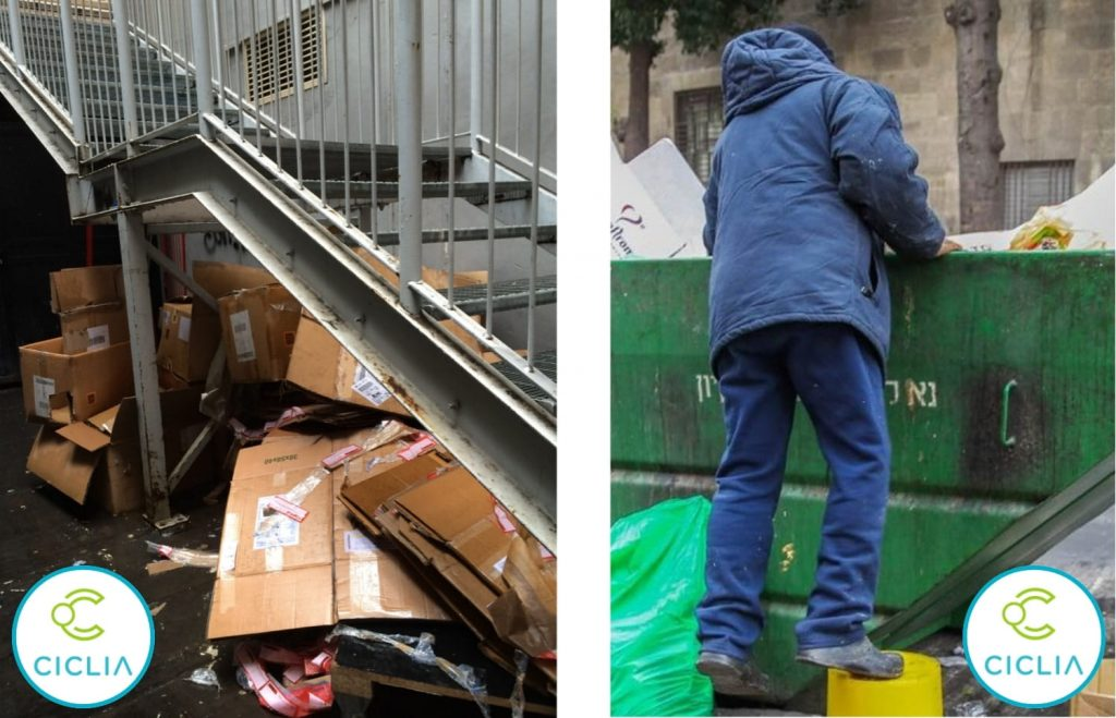 Gestione dei rifiuti - pericolo sicurezza
