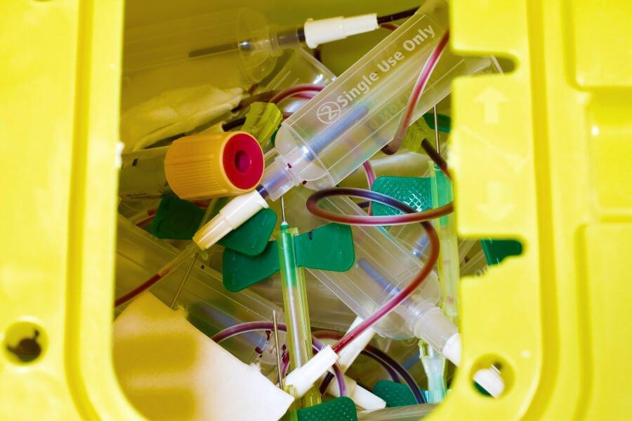 Rifiuti sanitari pericolosi a rischio infettivo