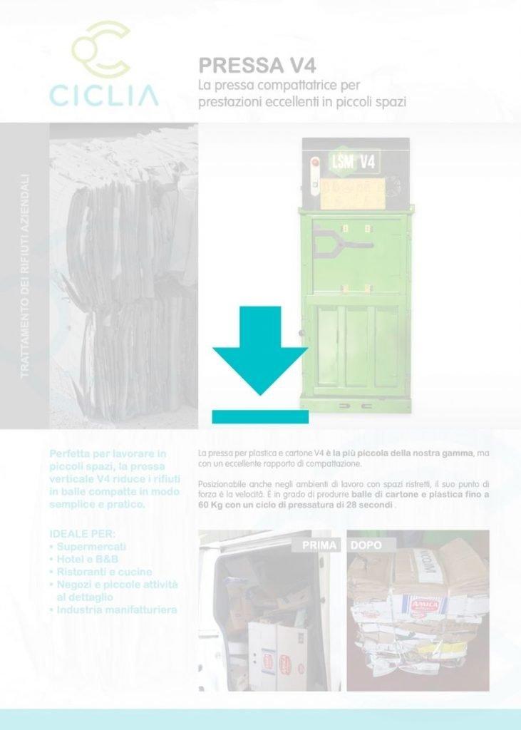 Pressa verticale v4 brochure